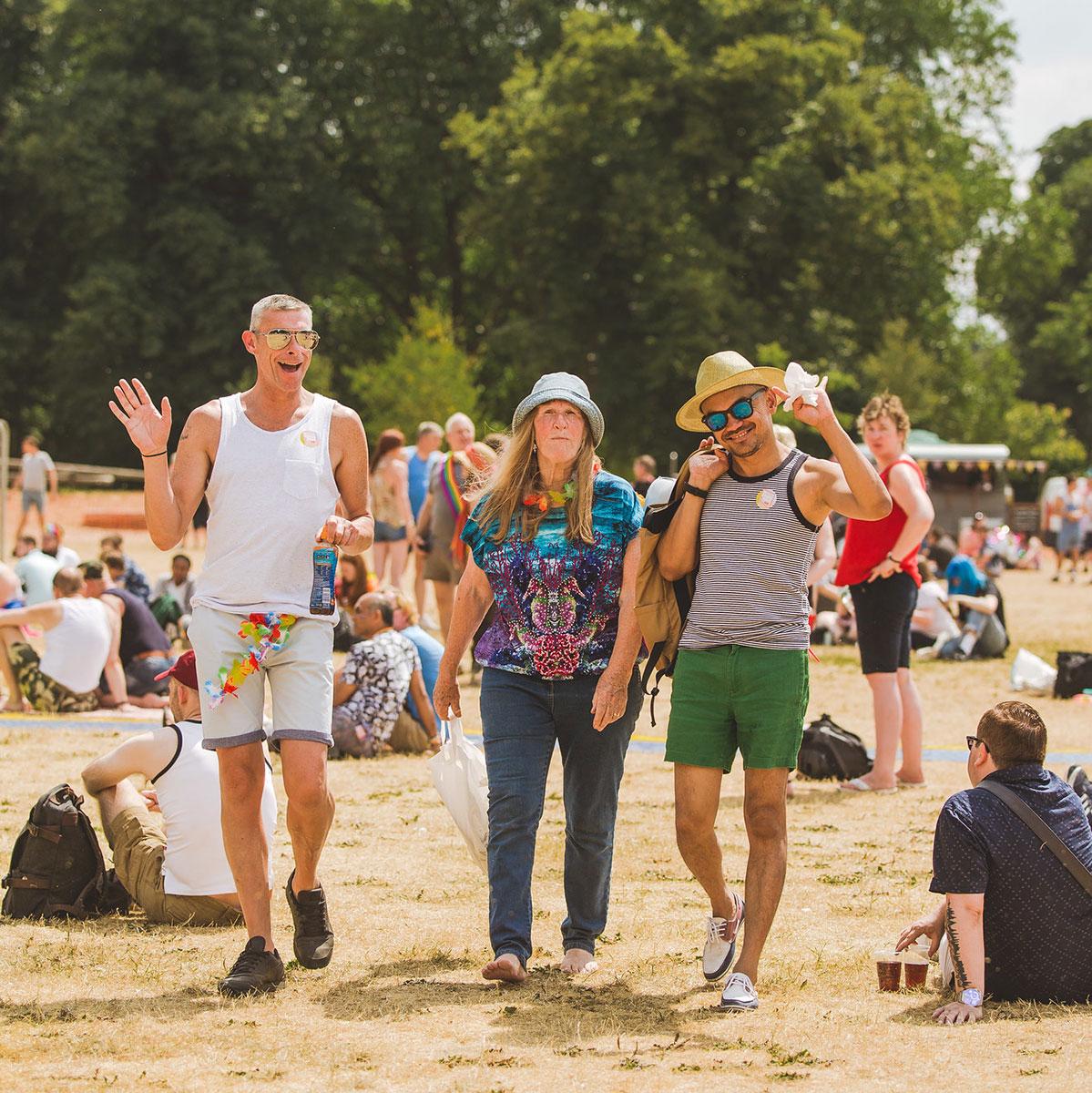 PrideFest 2018 sunshine