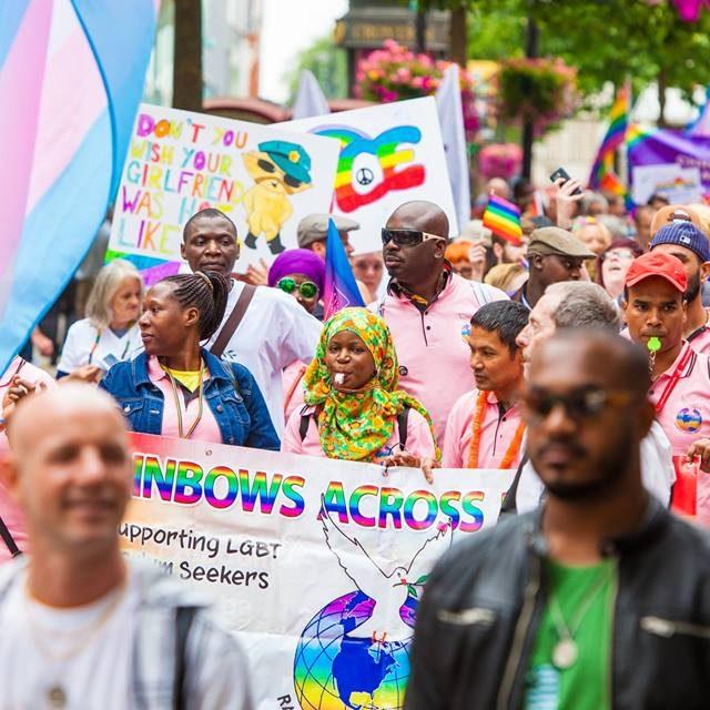 Croydon Pride 2017 - parade through North End