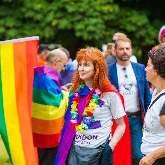 Croydon Pride 2017 in Queens Gardens