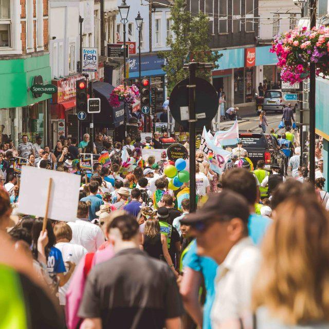 Croydon Pride 2018 - Parade